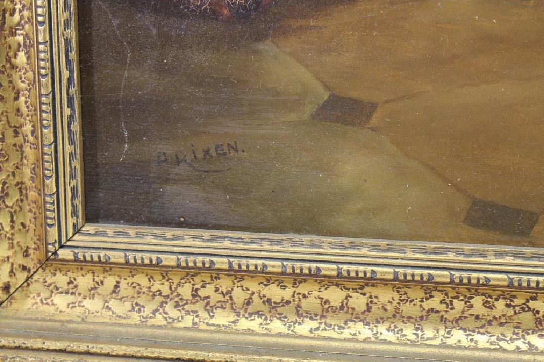 A. Rixen, Antique Interior Scene - 3