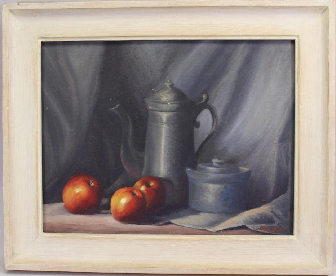 Signed, 20th C. Still Life Painting