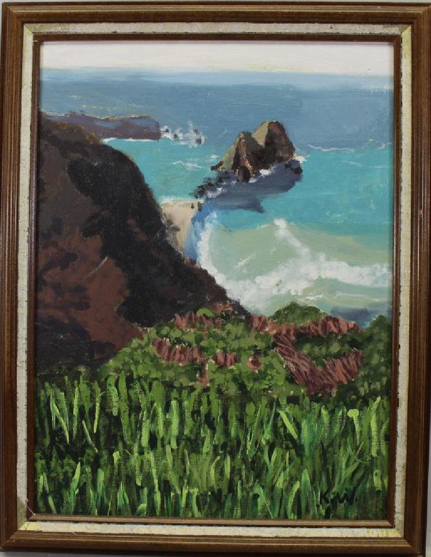 Kate Weaver, Coastal California Painting