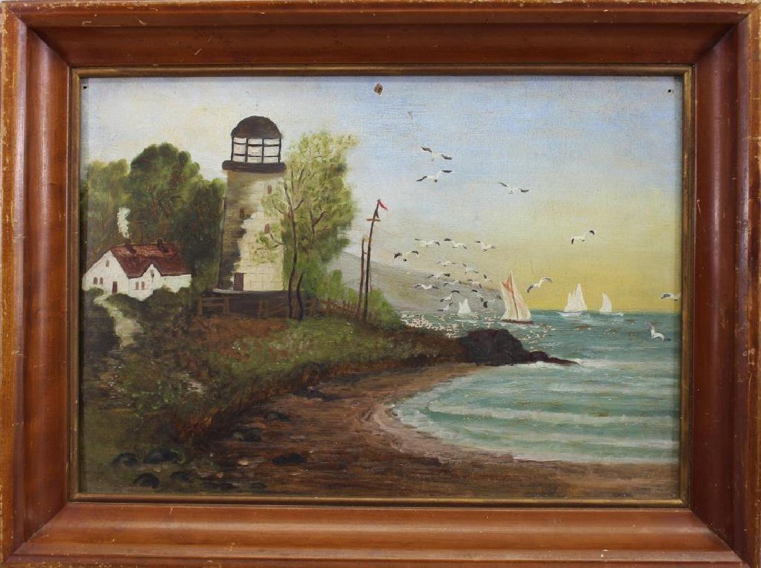 American School, New England Lighthouse
