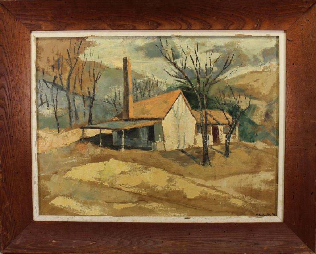 S. Goldsmith, Rural American Landscape w/ House