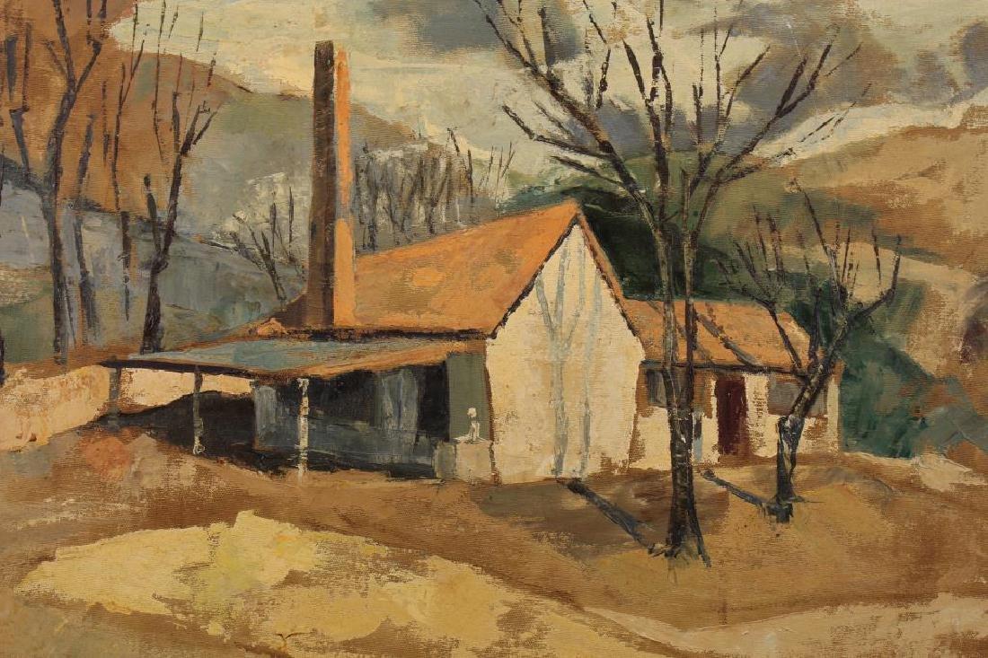 S. Goldsmith, Rural American Landscape w/ House - 2