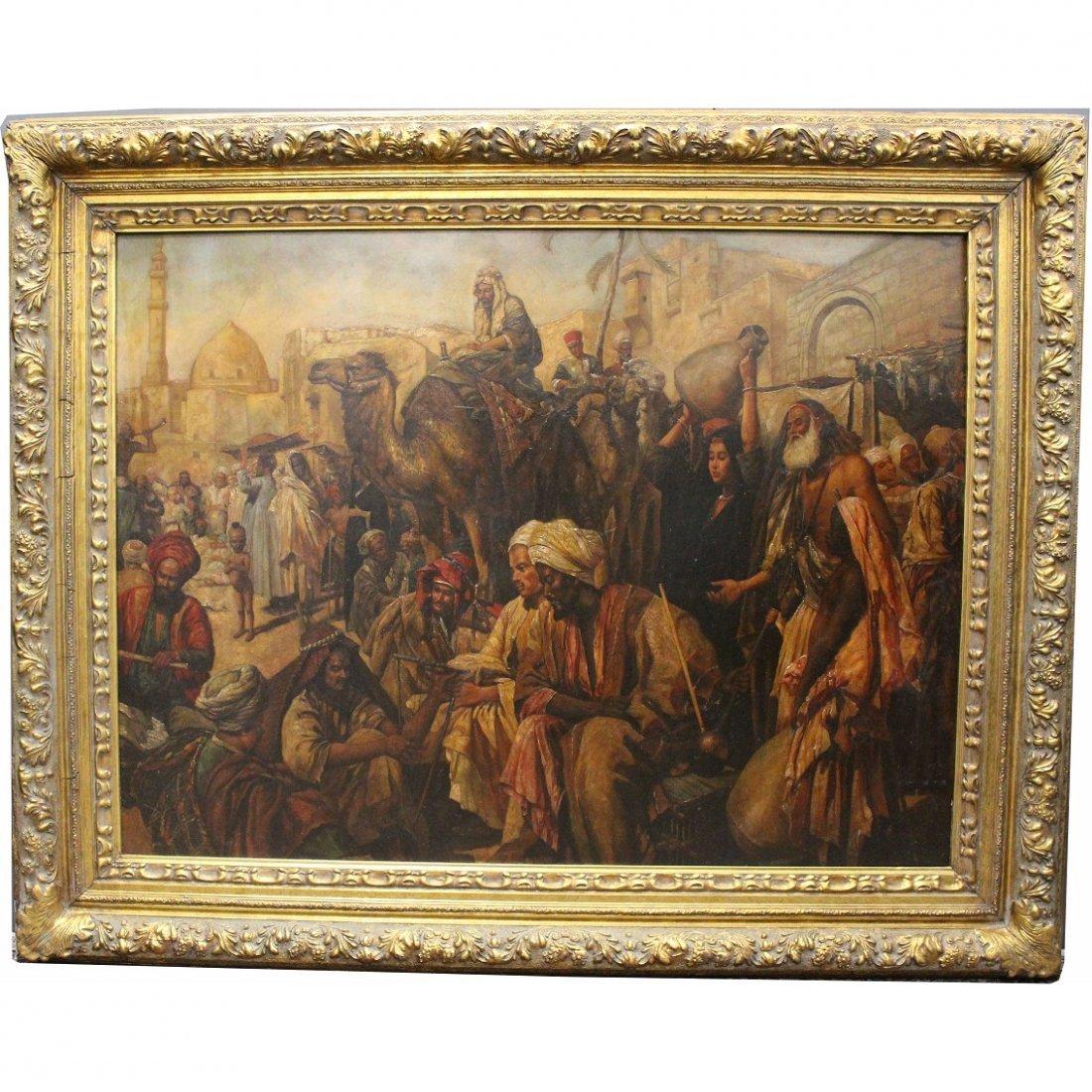Augustino, Signed Orientalist Scene