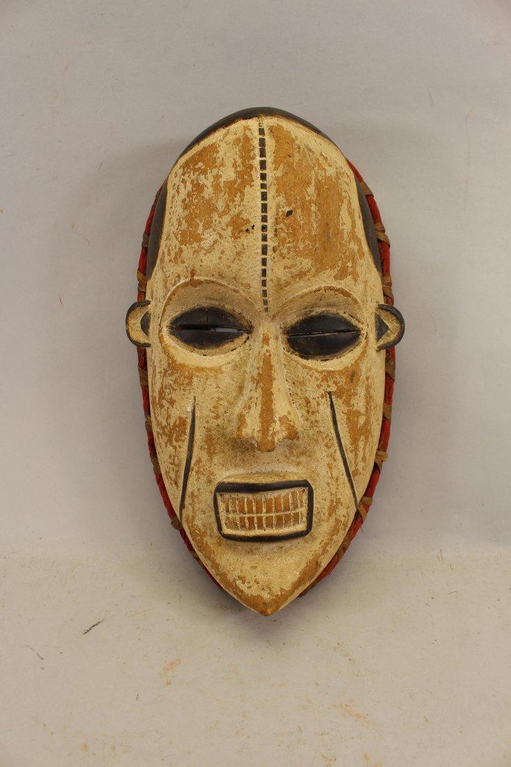 Mali Tribe African Mask