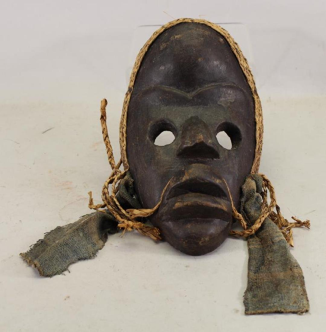 "20th C. ""Gunyeya"" Type Mask, Ivory Coast"