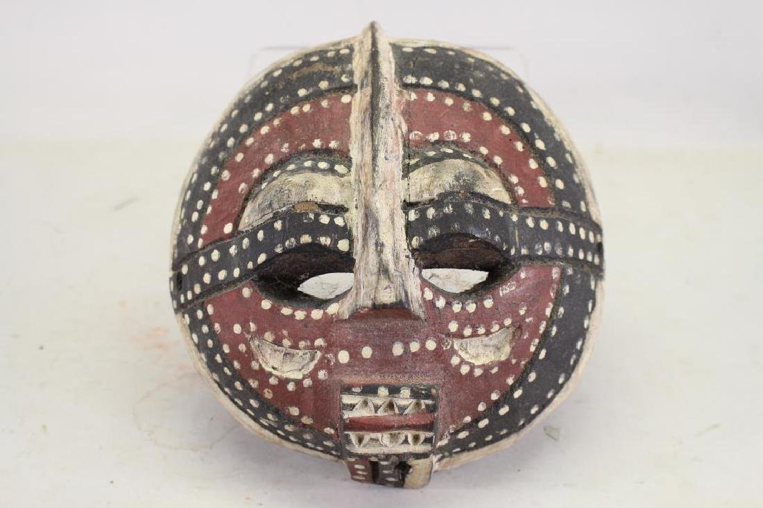 Decorative African Bifwebe Style Mask