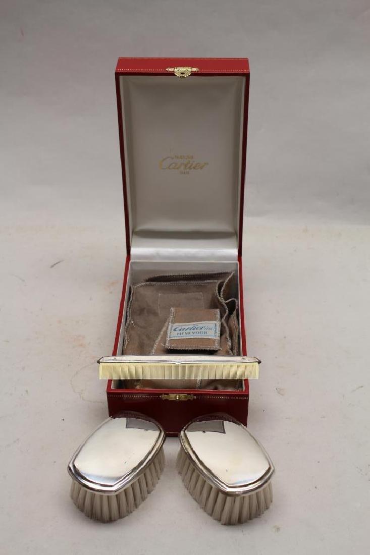 Cartier Sterling Children's Dresser Set