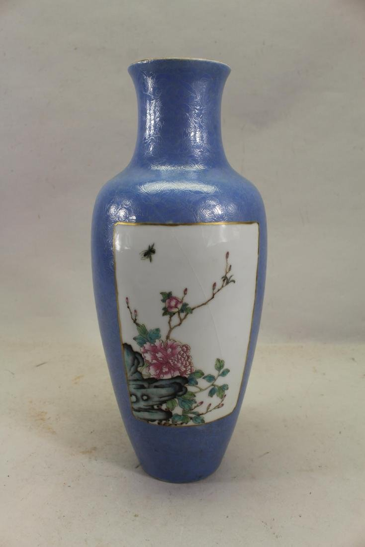 Signed, Large Chinese Baluster Form Vase