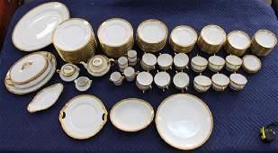 120 pc French Limoges Porcelain Set