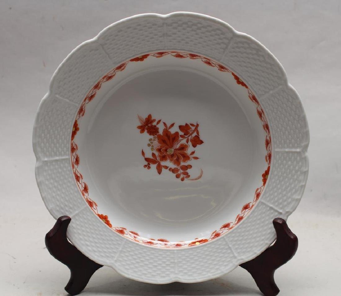 Meissen Floral Porcelain Plate