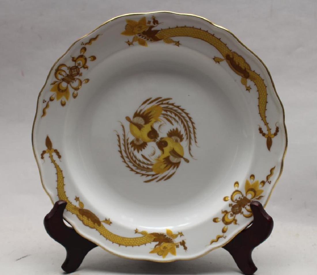 Meissen Chinese Motif Porcelain Plate