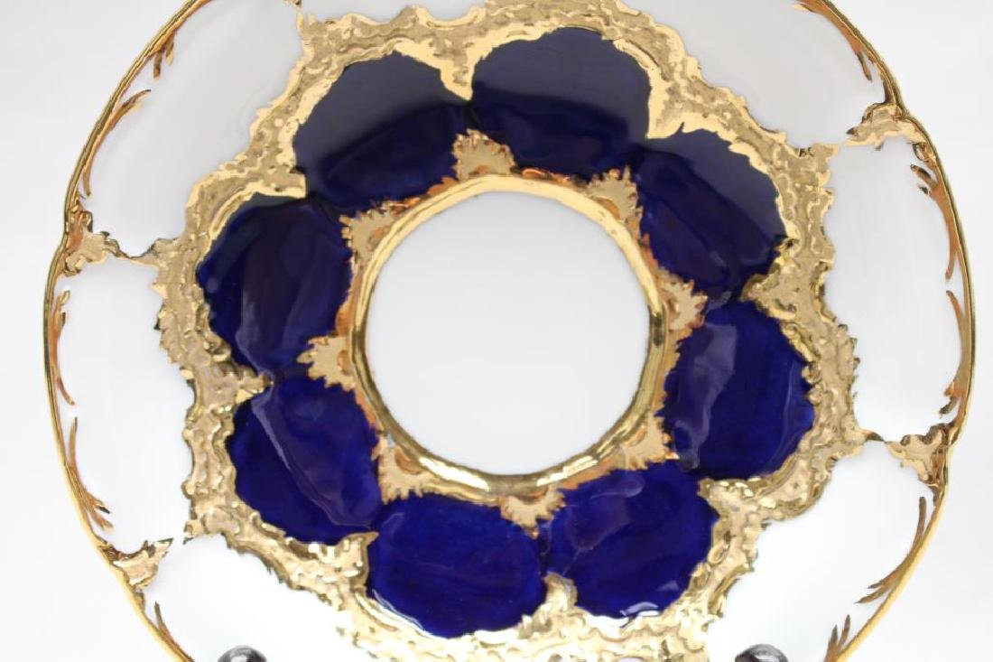 Meissen Porcelain Saucer - 2