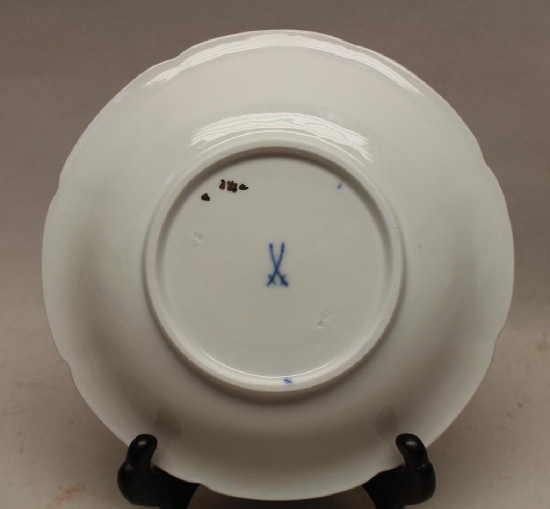 Meissen Porcelain Saucer - 4