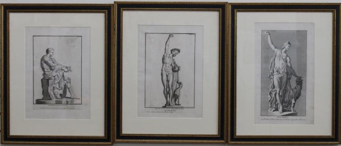 (3) Early 19th C. European Engravings