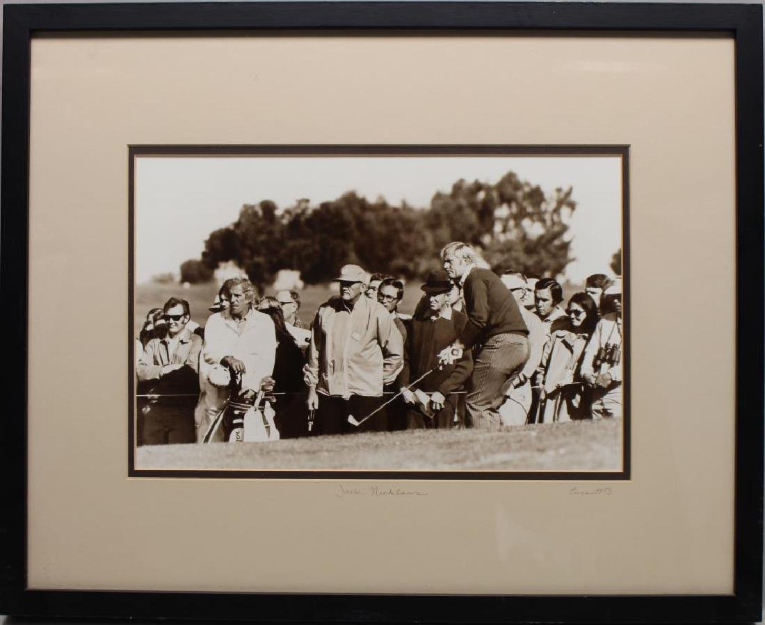 Vintage Jack Nicklaus 1973 Repro. Photograph