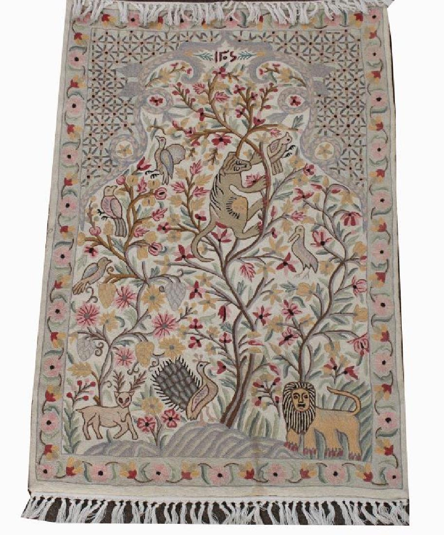 Hand Made Animal Design Rug