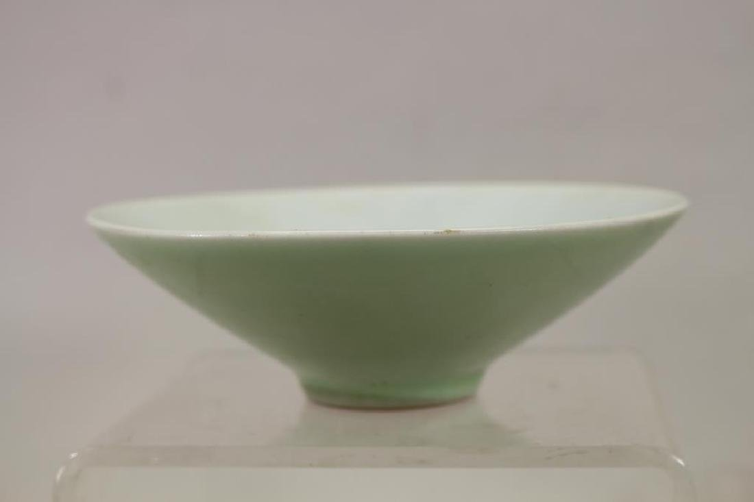 Chinese Celadon Glazed Bowl