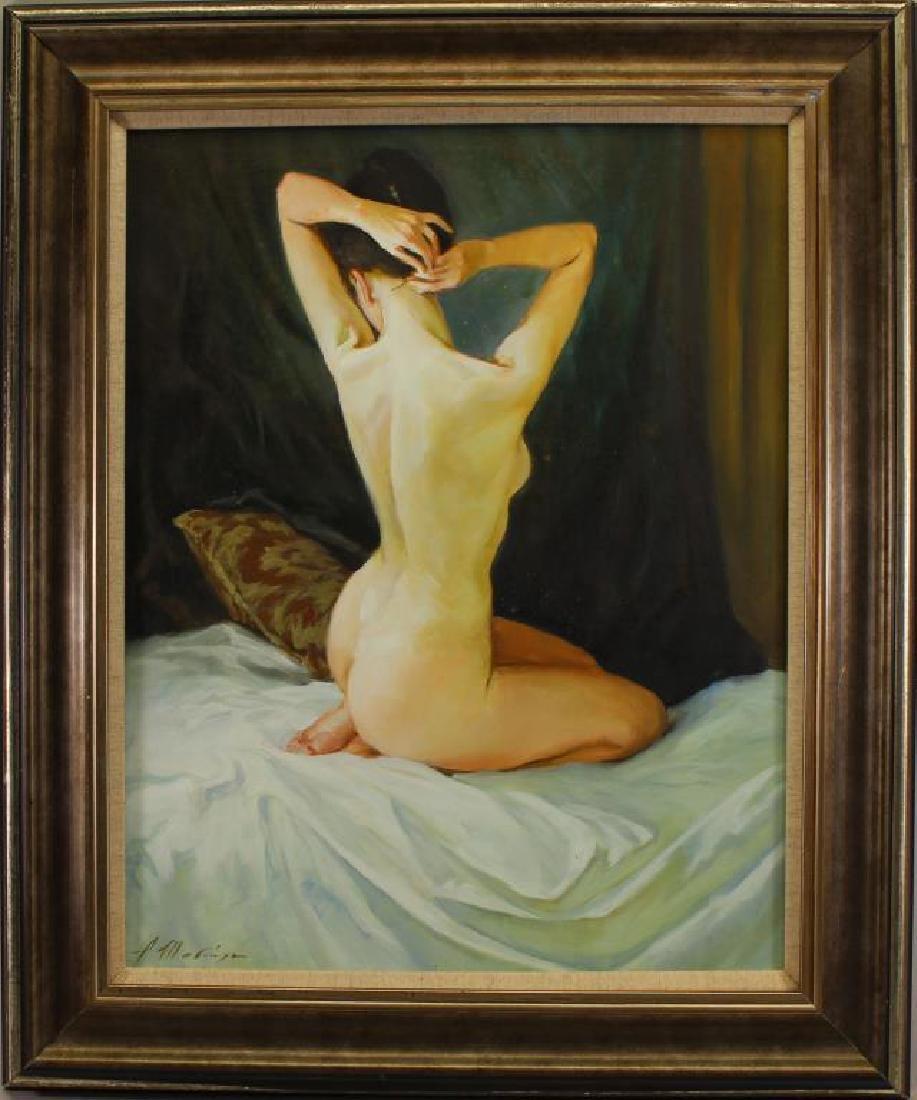 "Alexander Shevchuk (born 1960) ""Nude in Bed"""