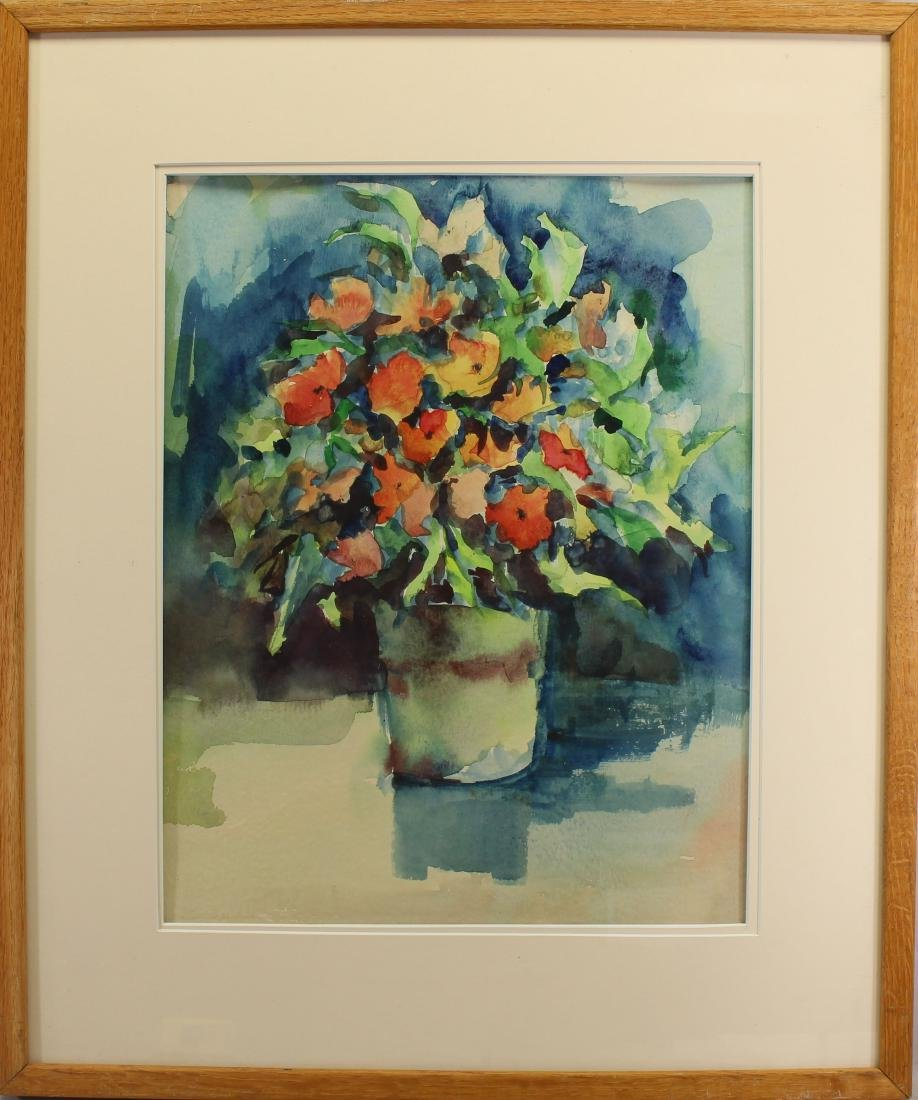 Signed, 20th Century Still Life Watercolor