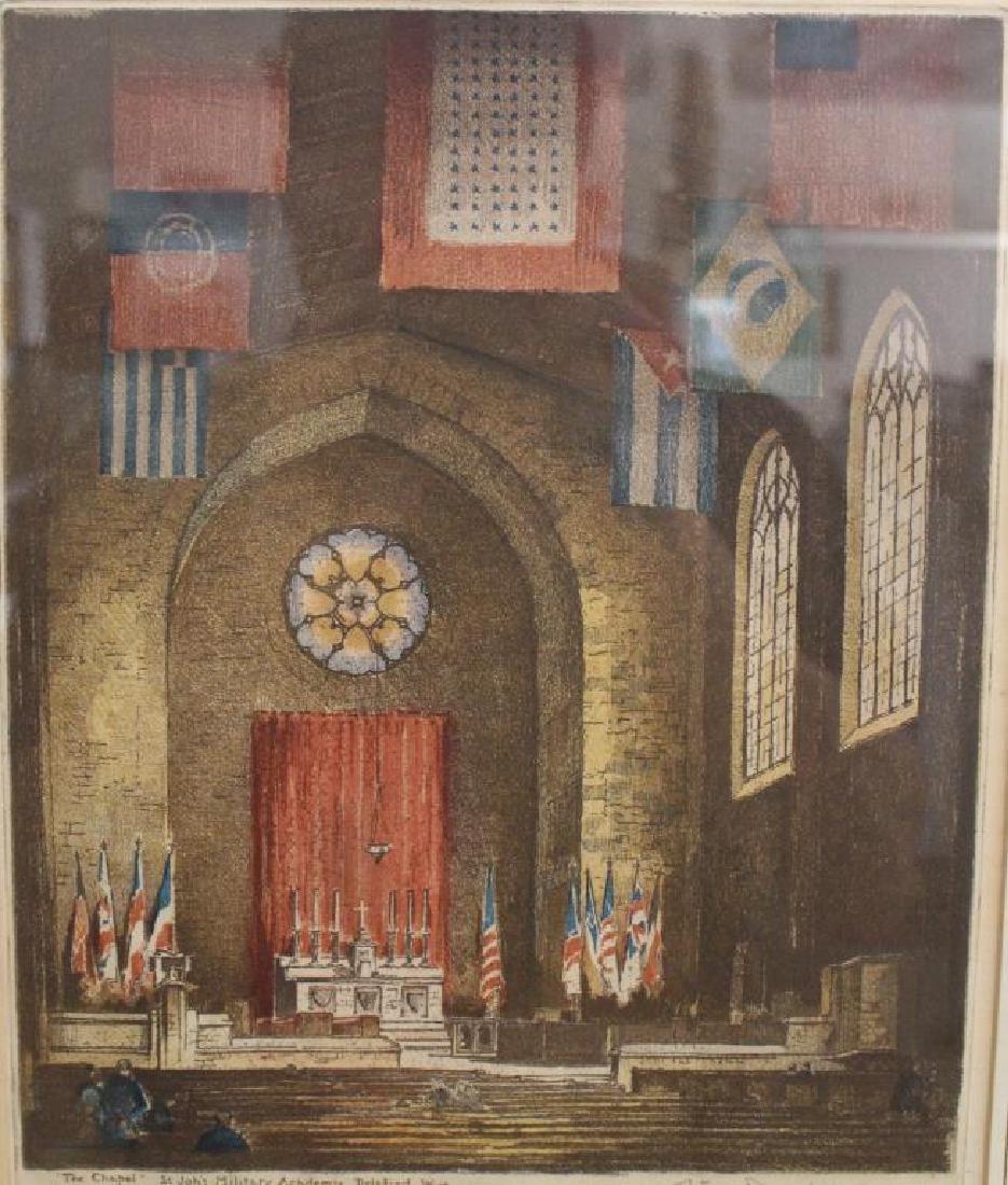 """The Chapel"" St John's Military Academy"