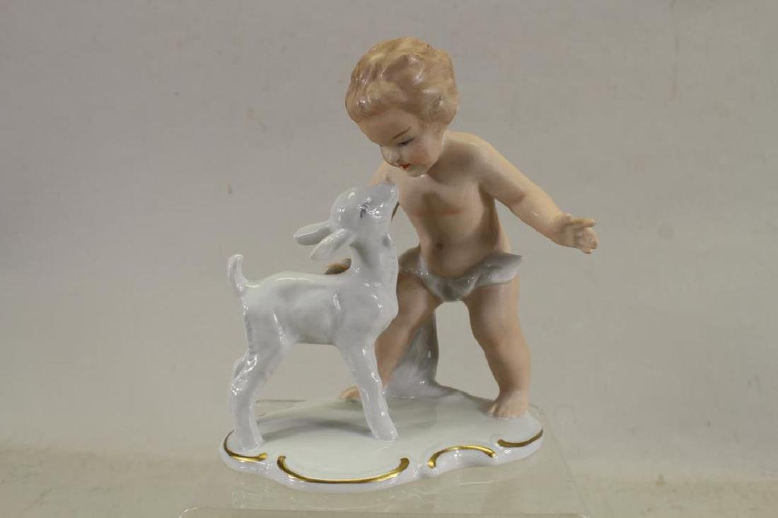 Hummel Goebel Porcelain Figure of Young Child