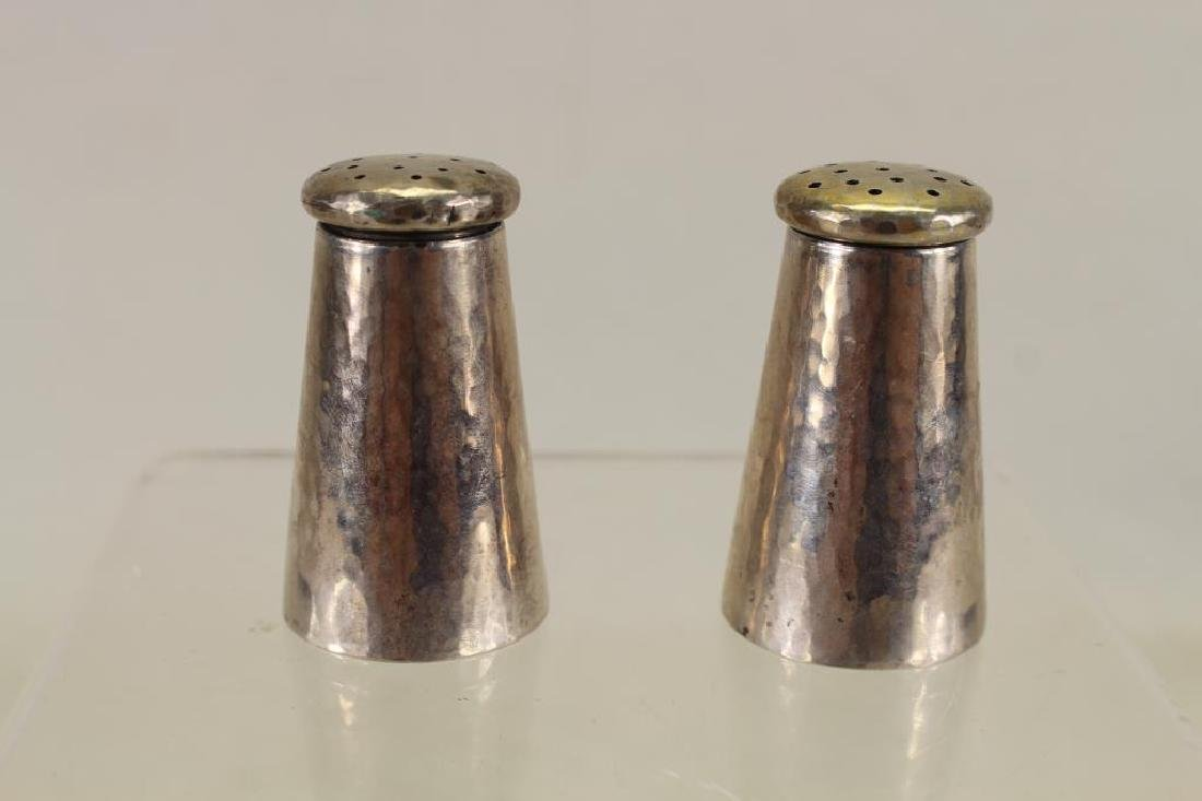 Antique Sterling Shreve & Co Salt & Pepper Shakers