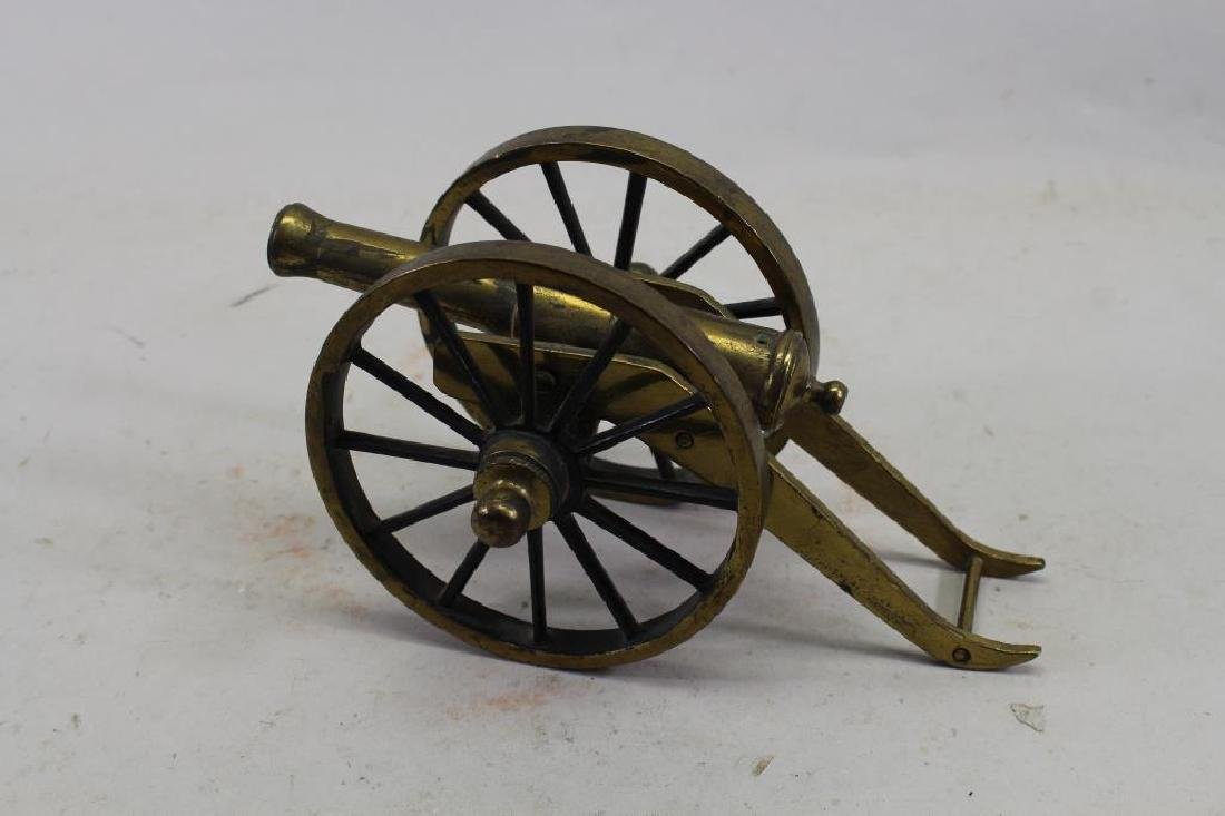 Miniature Brass Signal Cannon