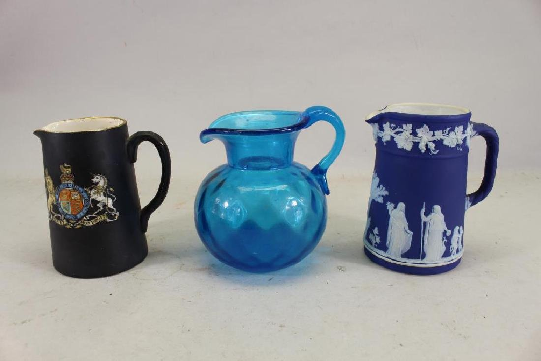 (3) Vintage Mugs/Pitchers