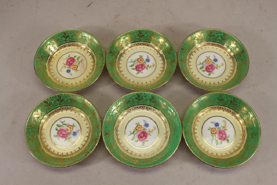 (6) Aynsley English China Finger Dishes