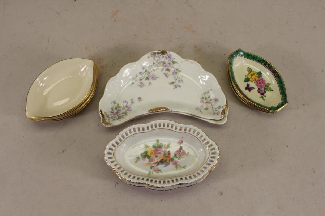 (13) Assorted Porcelain Trays/Dishes