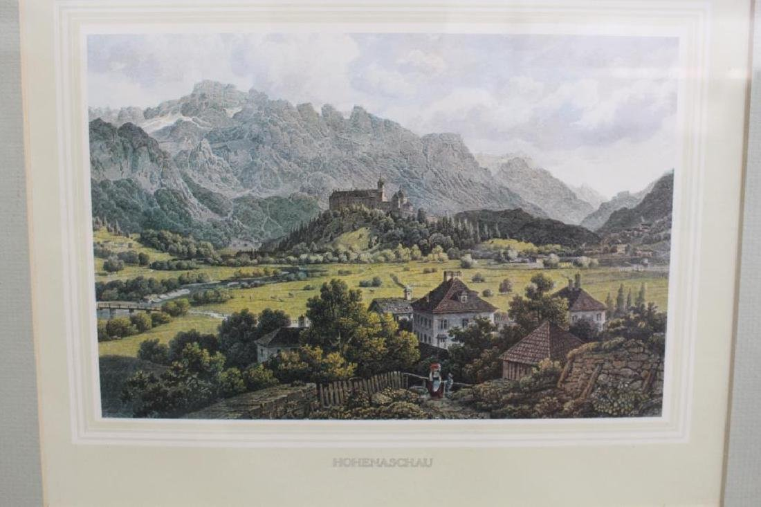 (2) Framed Antique German Prints - 4