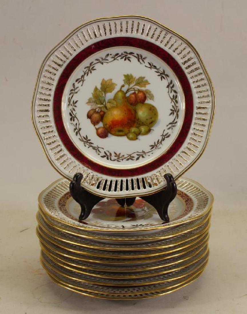 (11) Winterling Bavaria Porcelain Plates