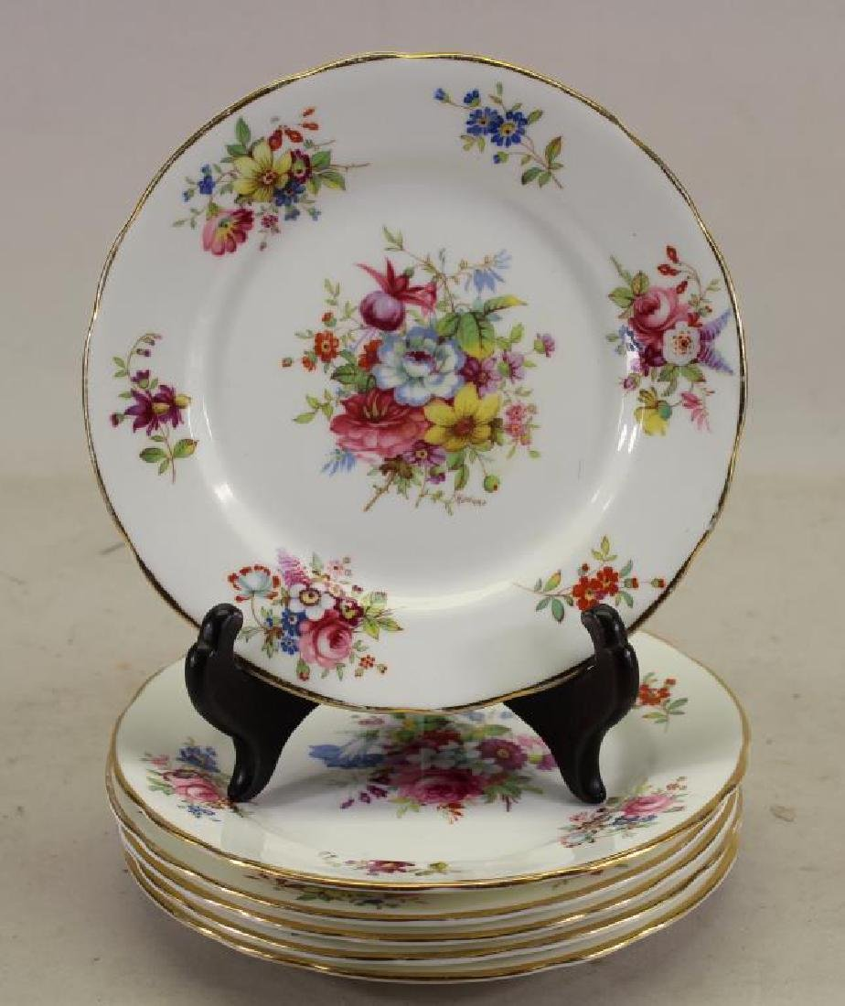 (6) Hammersley & Co. Porcelain Plates