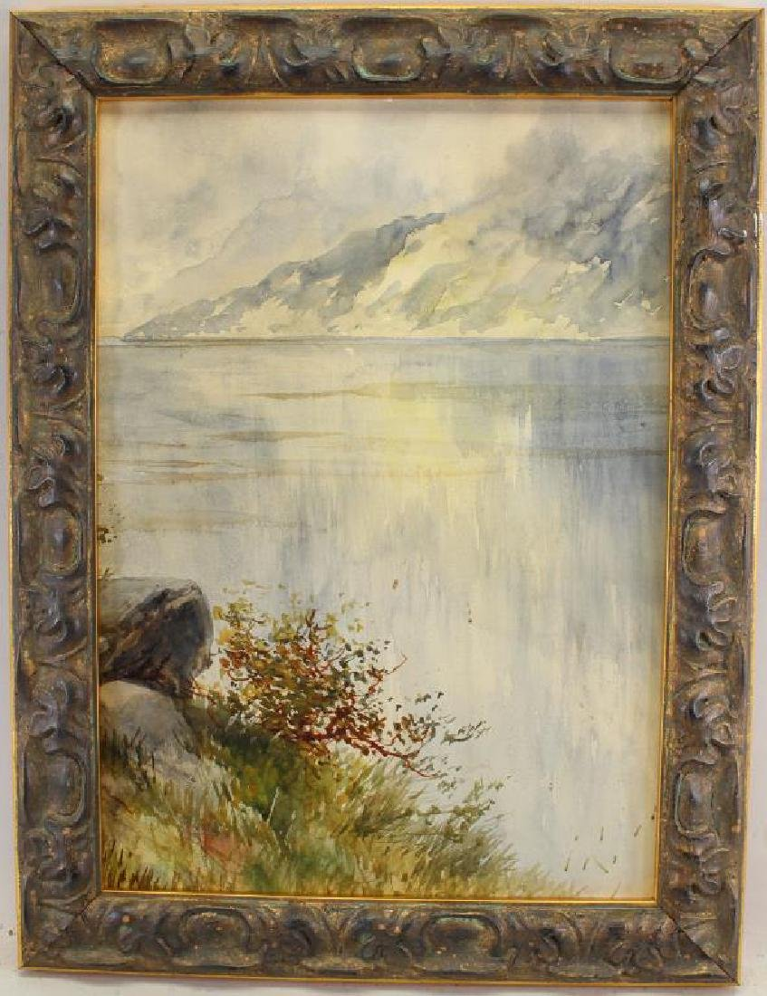 American School, Painting of a Mountainous Lake