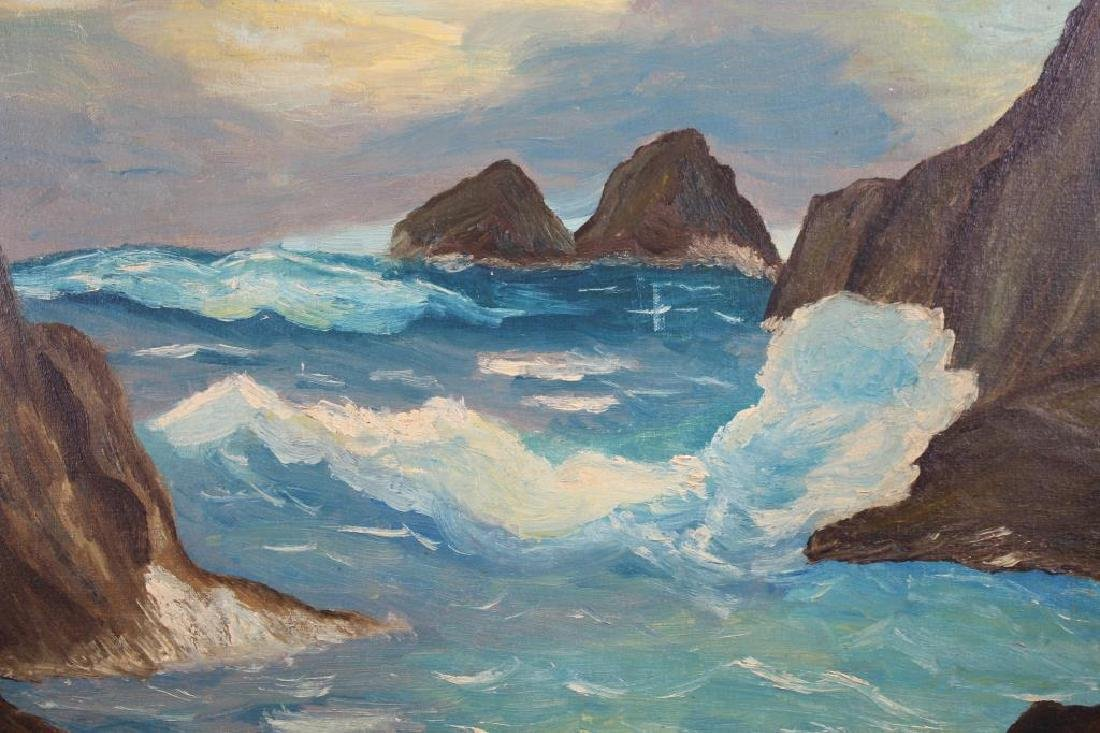 American School, 20th C. Coastal Landscape - 2