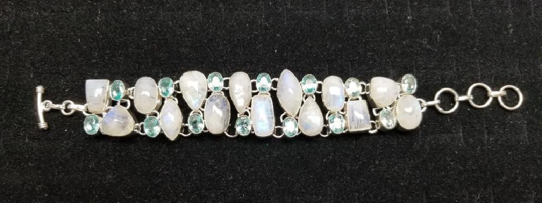 Sterling & Mixed Stone Bracelet