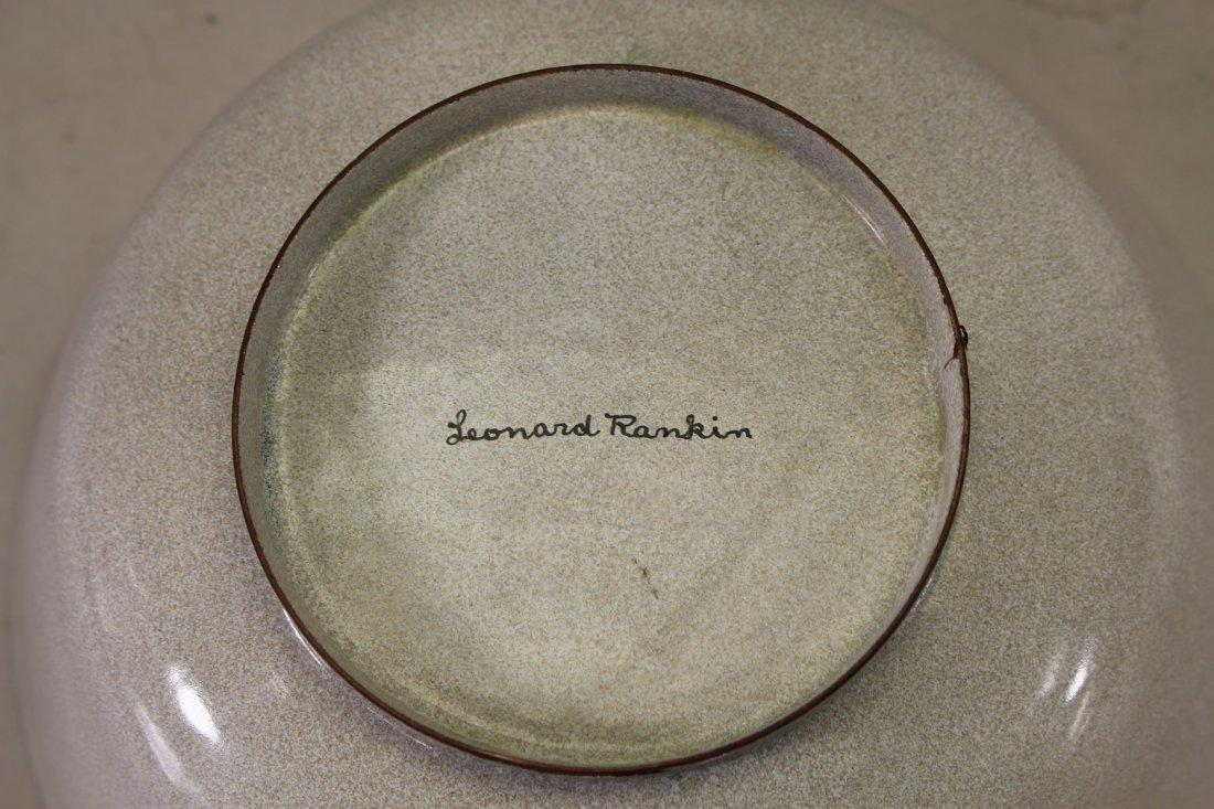 (2) Leonard Rankin Enameled Bowls, Signed on bottom - 2