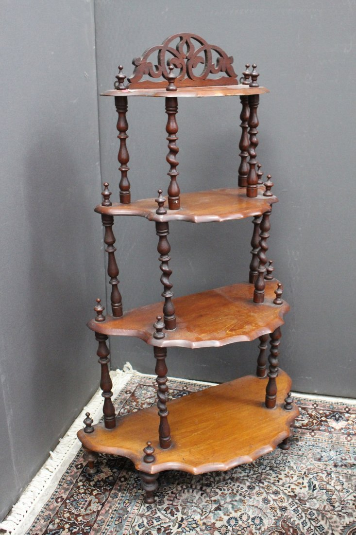 Vintage 4-Tiered Shelf