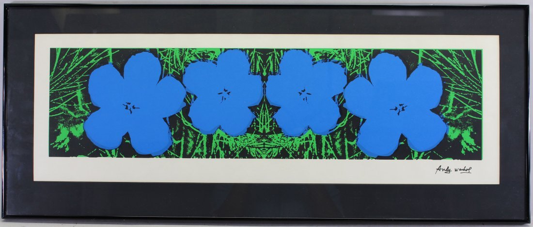 Andy Warhol Flowers Serigraph