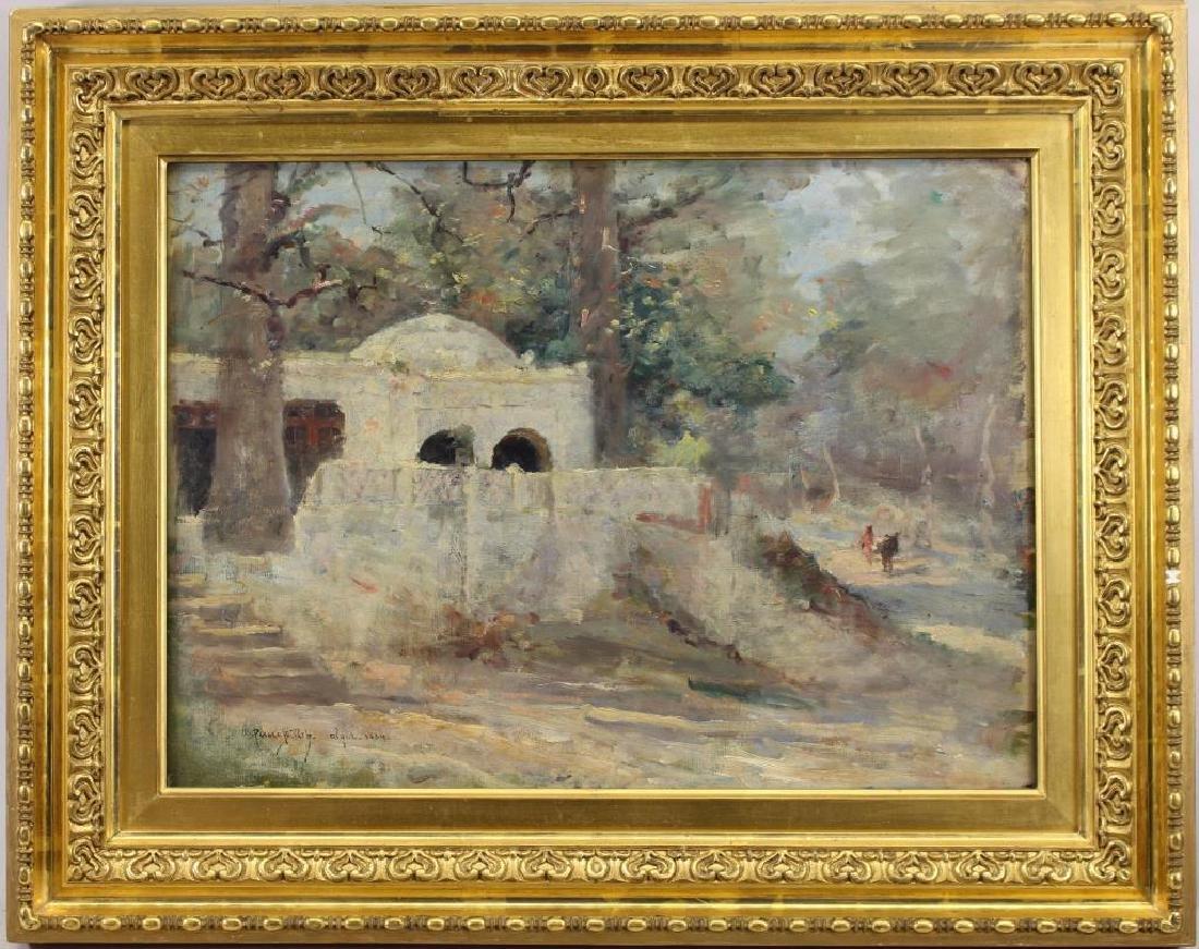 Pierre Billet (1837 - 1922) Scene in Algiers