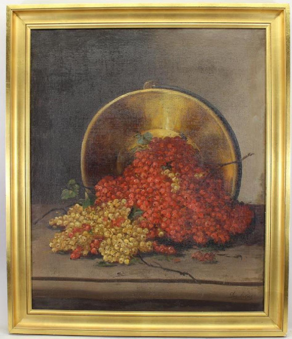 Dubois, Early 19th C. Still Life Painting