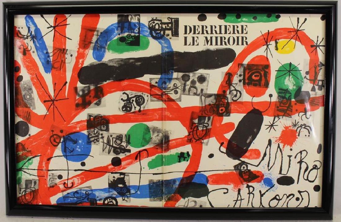 Joan Miro, Framed Print