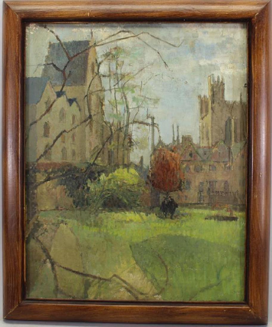 "Tania Tovey, ""Christ Church Oxford 1951"""