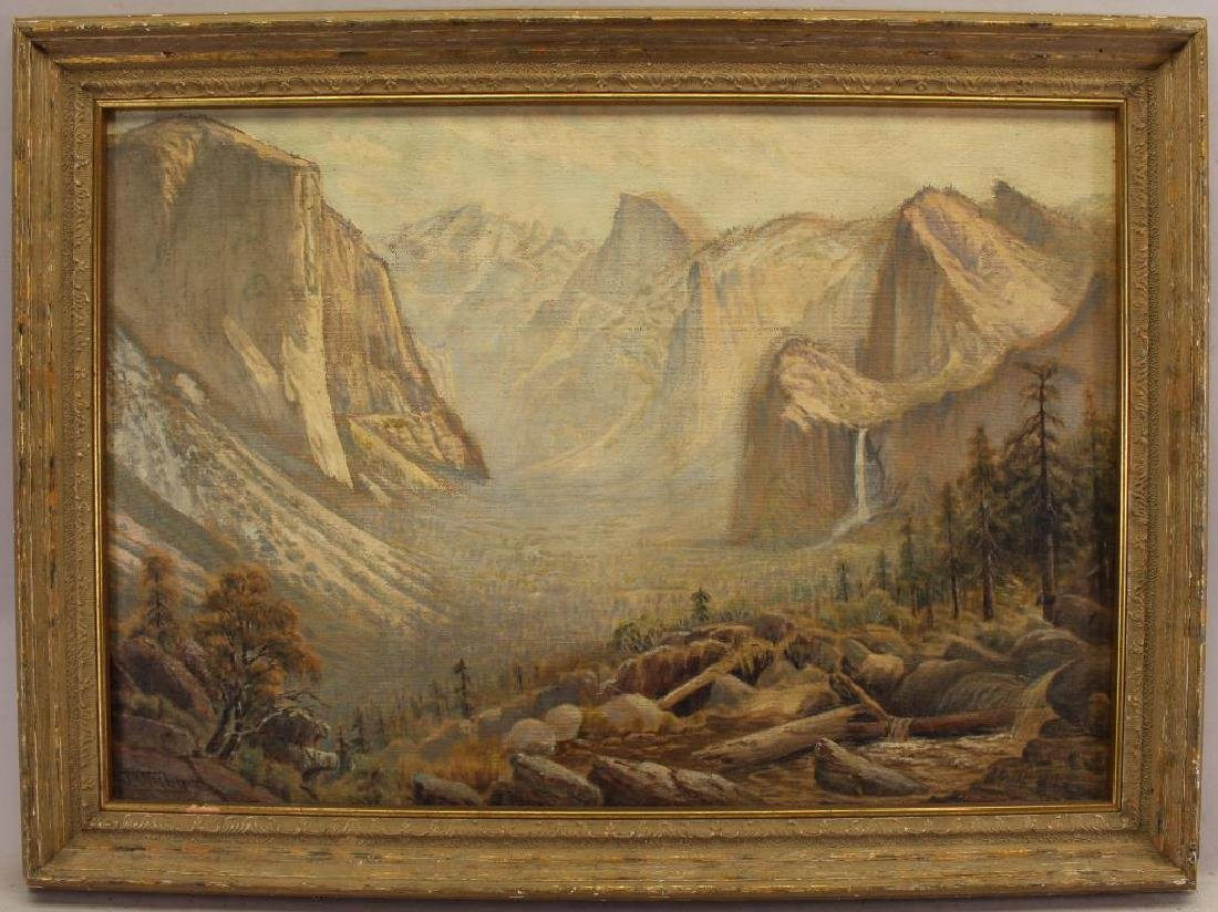 Jack Wisby (1869 - 1940) Yosemite Valley