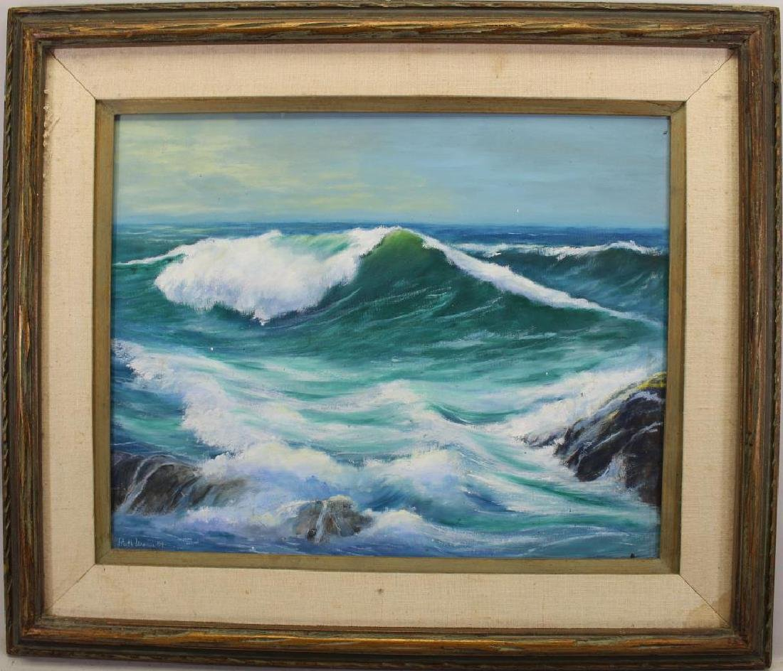 Ruth Weaver, 20th C. American Coastal Seascape
