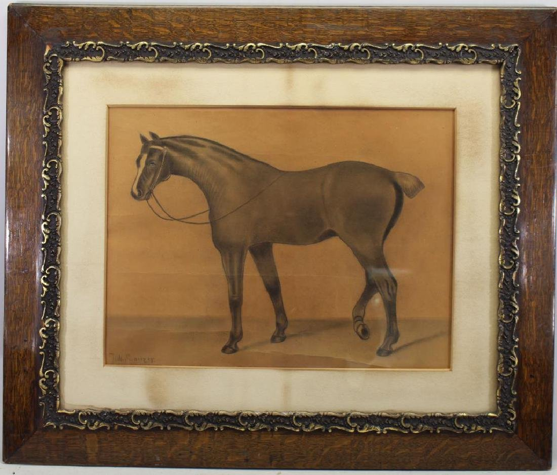Jon Swartz, 1895 Horse Drawing