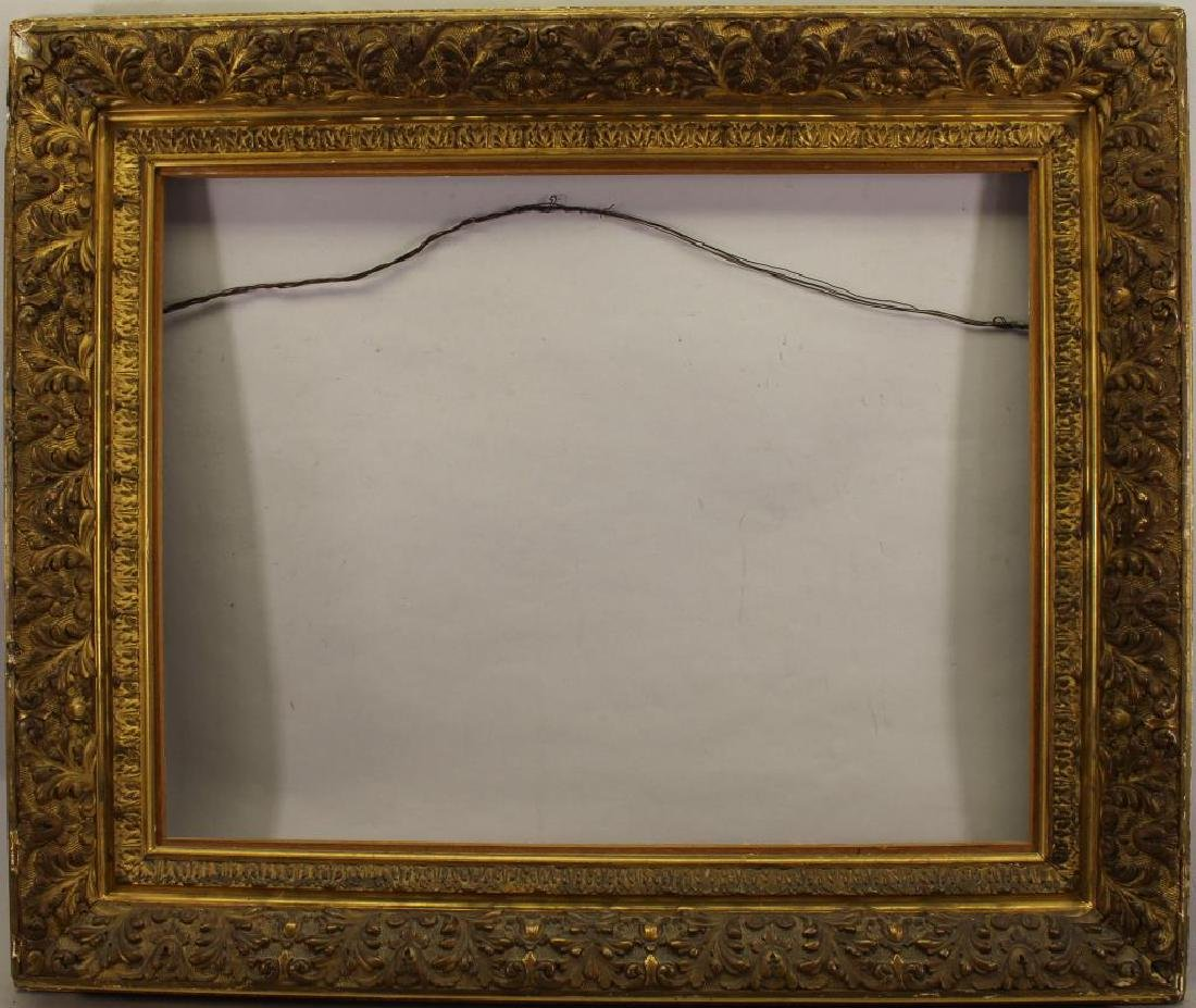 Fine Carved Antique Gilt/Wood Frame