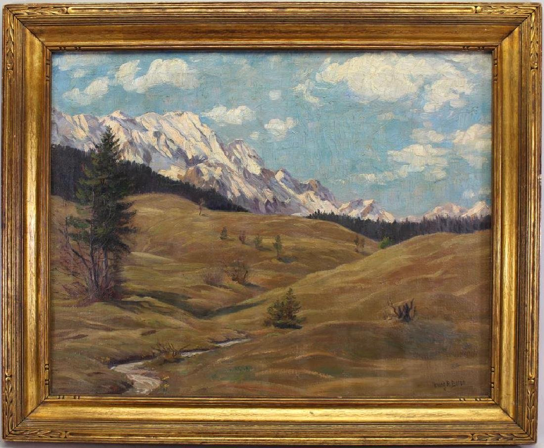 """Irving R. Bacon (1875-1962) """"In the Mountains"""""""
