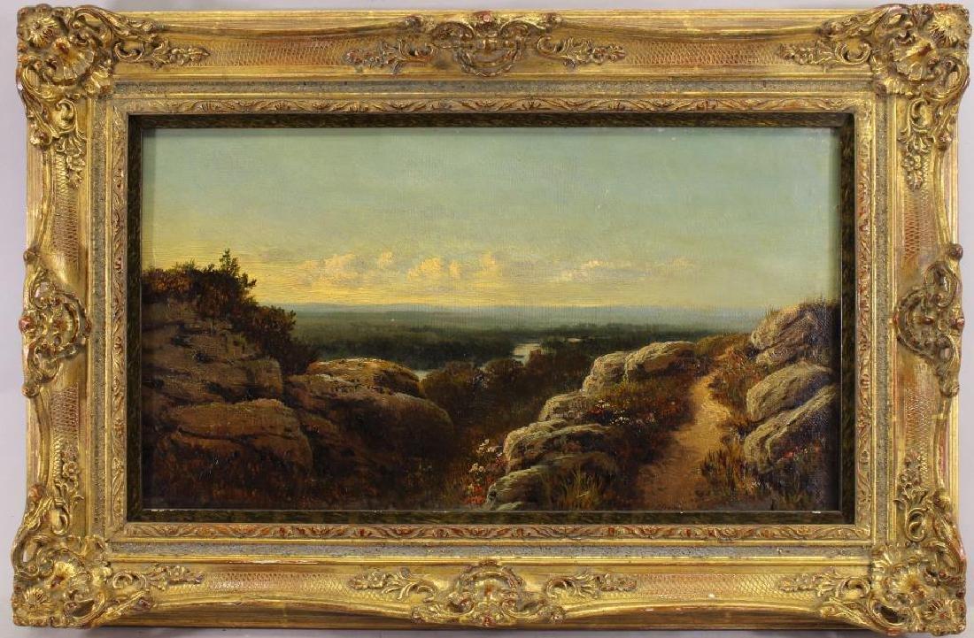 "Edmund Johann Niemann (1813 - 1876) ""River Swale"""