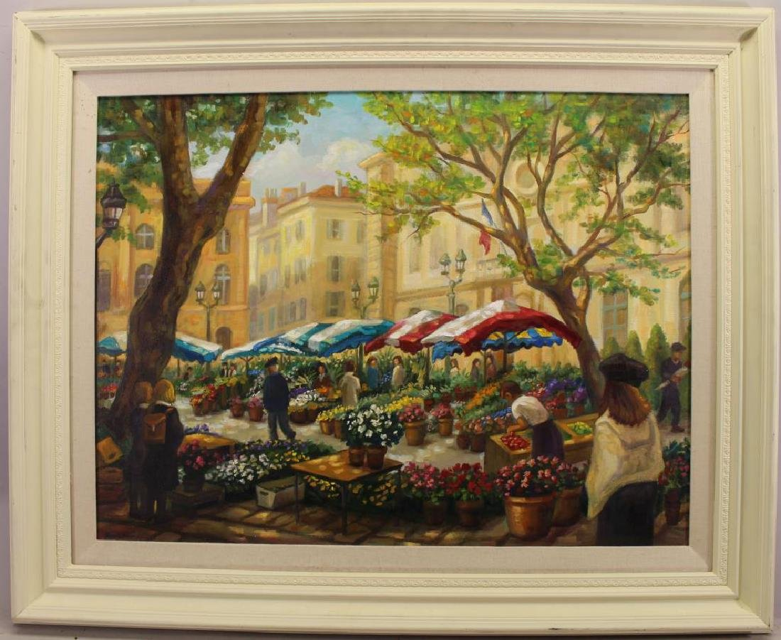 Joseph Brown, Paris Flower Market